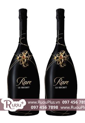 Sâm banh Pháp Champagne Rare Le Secret