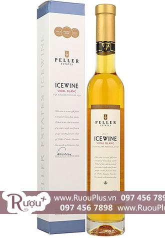 Rượu vang ngọt Canada Icewine Vidal