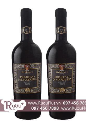 Rượu vang Ý Cantine Di Marco Primitivo di Manduria