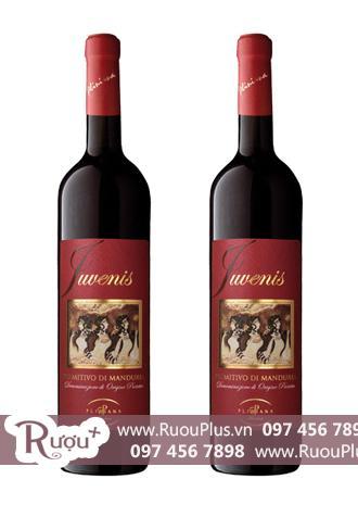 Rượu vang Ý Juvenis Primitivo di Manduria