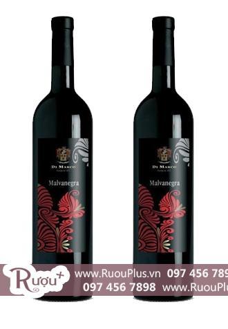 Rượu vang Ý Malvanegra Di Marco del Salento
