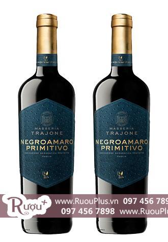 Rượu vang Ý Masseria Trajone Negroamaro Primitivo