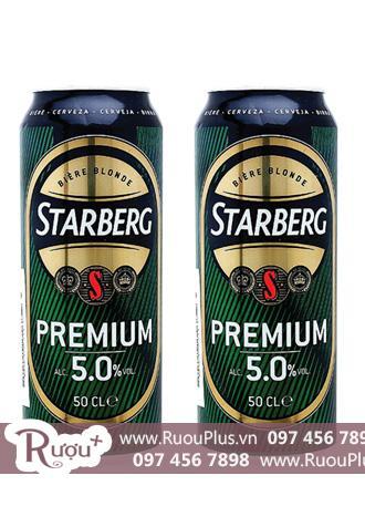 Bia Nhập Khẩu Lon Starberg Premium Lager