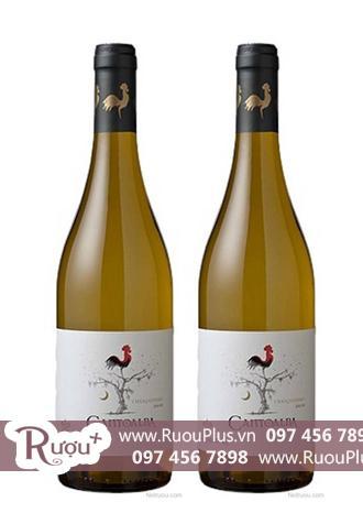 Rượu vang Chile Cantoalba Chardonnay
