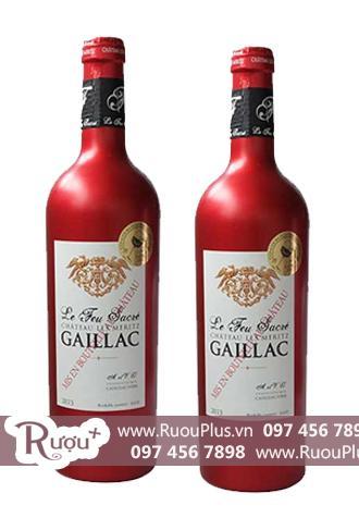 Rượu vang Pháp Château Les Meritz Le Feu Sacré Gaillac