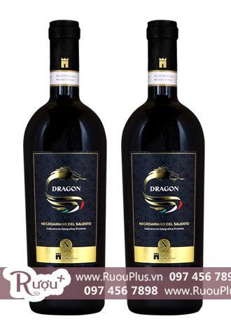 Rượu vang Ý Dragon Negroamaro del Salento