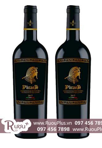 Rượu vang Ý Pharaoh Primitivo Di Manduria