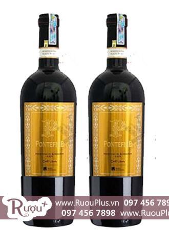 Rượu vang Ý Pontefice Primitivo di Manduria