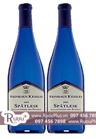 Rượu vang Spätlese Riesling Sweet Wine Blue Edition