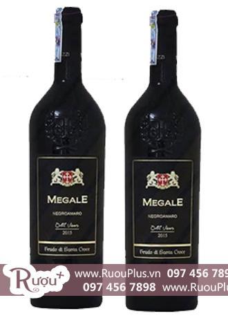 Rượu vang Ý Megale NegroAmaro Old Vines (New Label)